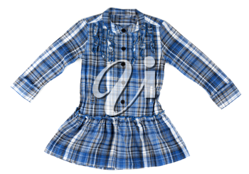Royalty Free Photo of a Child's Plaid Shirt
