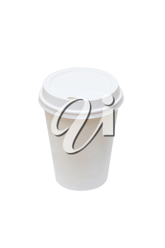 Royalty Free Photo of a Disposable Coffee Cup