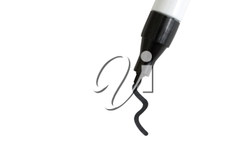 Royalty Free Photo of a Black Marker