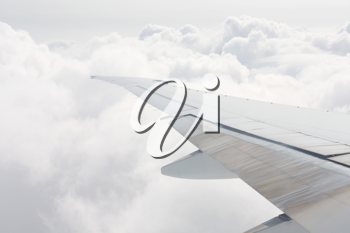 Royalty Free Photo of an Airplane Wing