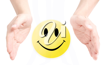 Royalty Free Photo of a Smiley Face
