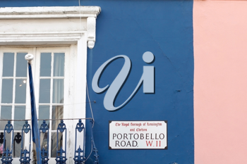 Royalty Free Photo of Portobello Rd. in London