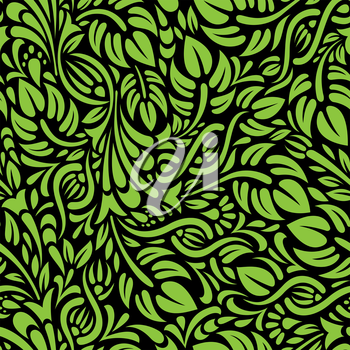 Royalty Free Clipart Image of a Leafy Background