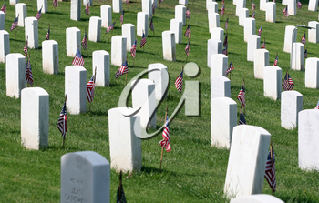 Royalty Free Photo of Fort Rosecrans National Cemetery