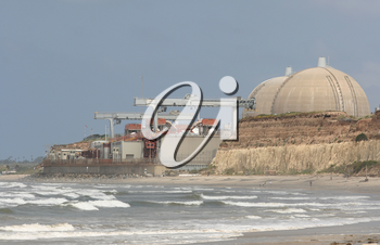 Royalty Free Photo of the San Onofre Nuclear Generating Station