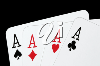 Royalty Free Photo of Playing Cards