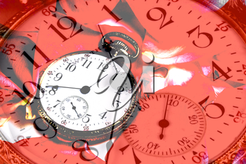 Royalty Free Photo of a Clock