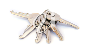 Royalty Free Photo of a Bunch of Keys