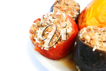 Royalty Free Photo of Stuffed Vegetables