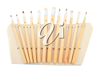 Royalty Free Photo of a Set of Paintbrushes