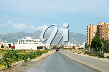 Royalty Free Photo of a Road in Cyprus
