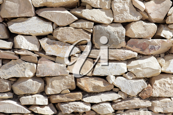 Texture of laying rocks. Background.