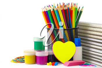 Royalty Free Photo of School Supplies