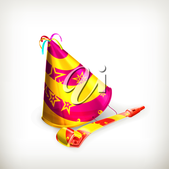 Party hat, vector
