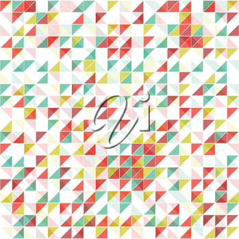 Royalty Free Clipart Image of a Geometric Background