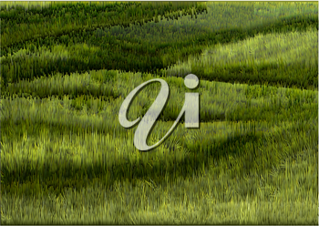 south downs. absrtract vector grass background
