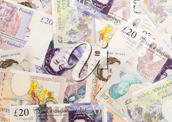 Pound currency background, Currency of the United Kingdom