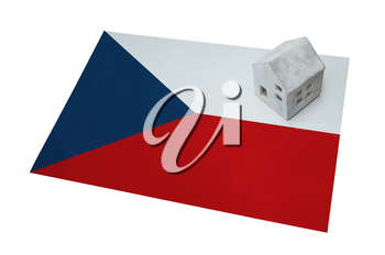 Small house on a flag - Living or migrating to Czech Republic