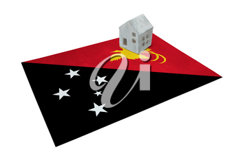 Small house on a flag - Living or migrating to Papua New Guinea