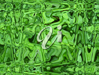 The image of green abstract and unusual  background