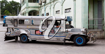 in asia philipphines the typical bus for tourist transportation