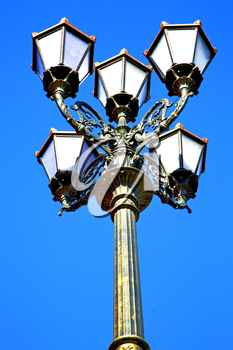 street lamp in morocco africa old lantern   the outdoors and sky