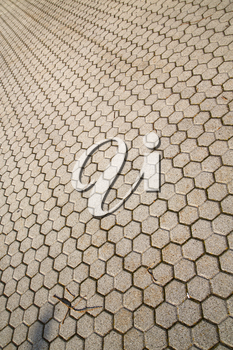 in varano borghi  street lombardy italy  varese abstract   pavement of a curch and marble
