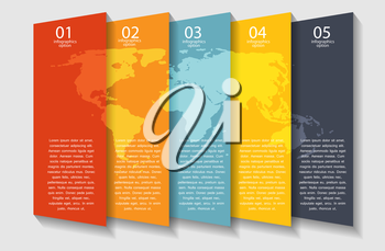 Infographic business template vector illustration. EPS 10