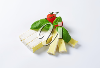 Brique cheese - soft cow's milk cheese with thin edible rind