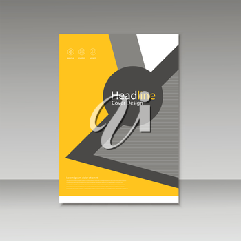 Vector Brochure Design Layout template.