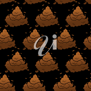Brown turd background. Shit ornament. Pile of poop texture. feces and dog excrement
