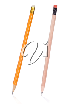 isolated pencil on white background