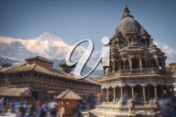 Patan .Ancient city in Kathmandu Valley. Nepal