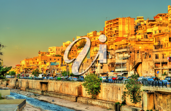 Cityscape of Tripoli, the largest city in northern Lebanon
