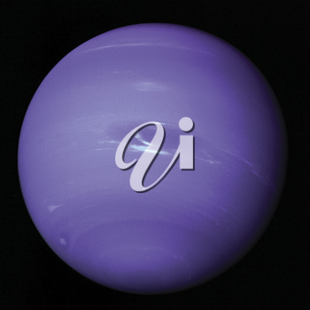 Royalty Free Photo of the Planet Neptune
