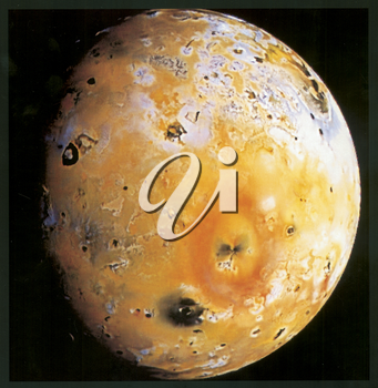 Royalty Free Photo of IO, Jupiter's 5th moon