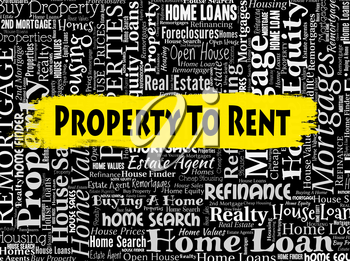 Property To Rent Representing Real Estate And Offices