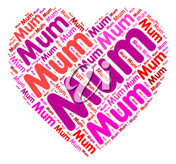 Mum Heart Meaning In Love And Hearts