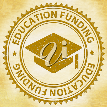 Education Funding Showing Print Finance And Tutoring