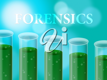 Forensics Research Representing Study Examine And Science