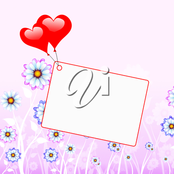 Tag Heart Meaning Valentine Day And Card
