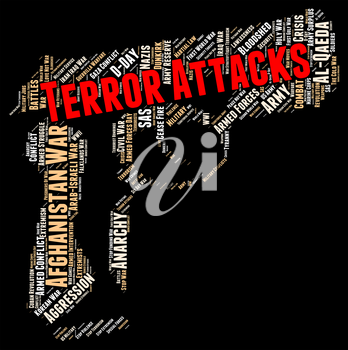 Terror Attacks Indicating Freedom Fighters And Fear
