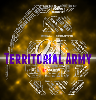 Territorial Army Meaning Military Action And Armament