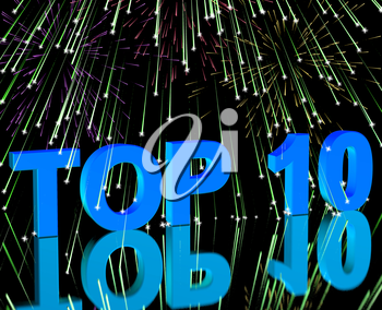 Top Ten Word And Fireworks Shows Best Rated In Charts