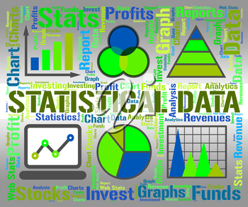 Statistical Data Indicating Business Graph And Stats