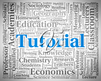 Tutorial Word Showing Online Tutorials And Education