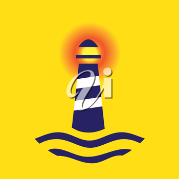 Lighthouse concept design. AI 10 supported