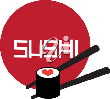Sushi Logo Concept Design. AI 8 Supported.