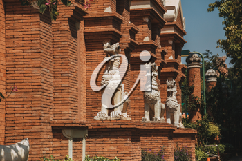 PATTAYA, THAILAND - FEBRUARY 6 2016: Culture, features and Life of Thailand.