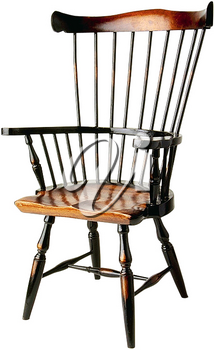 Royalty Free Photo of a Vintage Wooden Chair